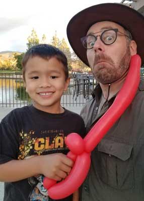 kids birthday party magician Balloon-Sword-web