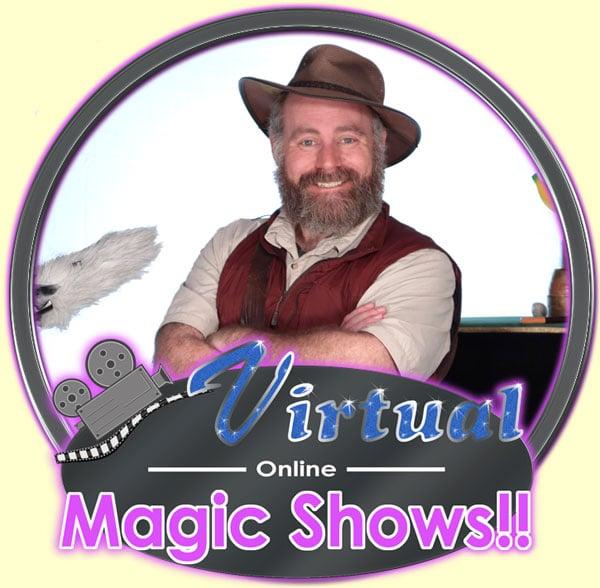 Virtual-Magic-Show-logo-with-California-Joe-Web