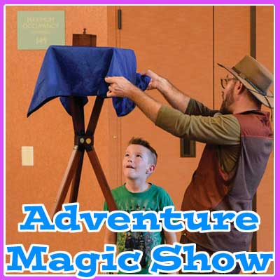 kids birthday party magic show